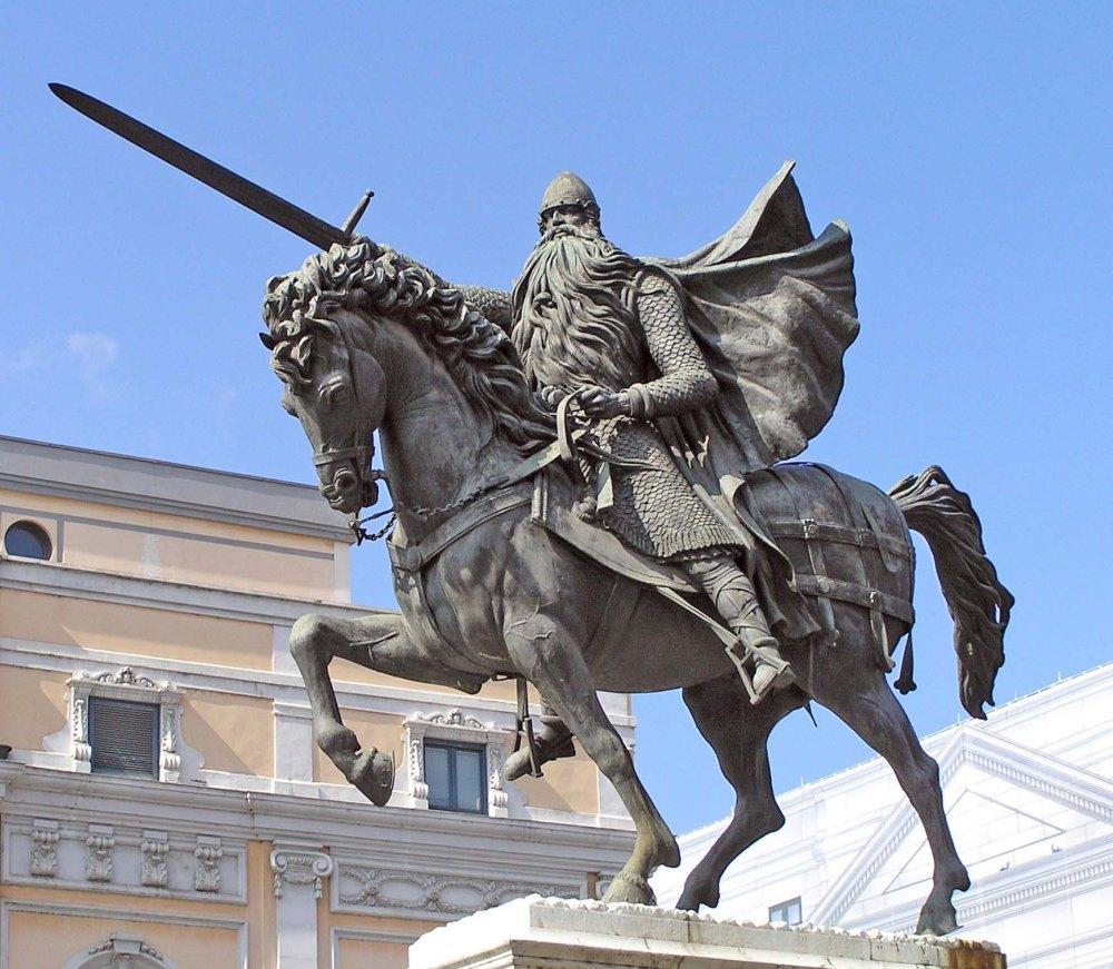 Estatua-del-Cid-Campeador_Burgos