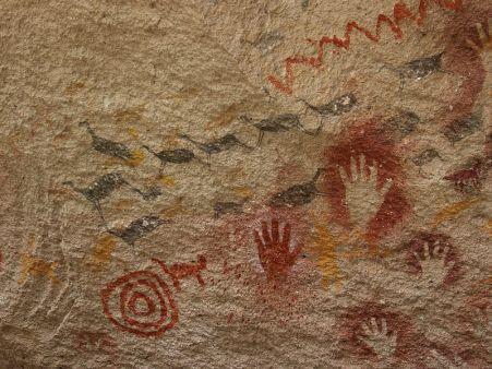 Manos rupestres